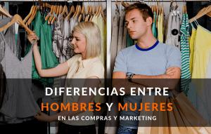 Hombres y mujeres, Diferencias al comprar I